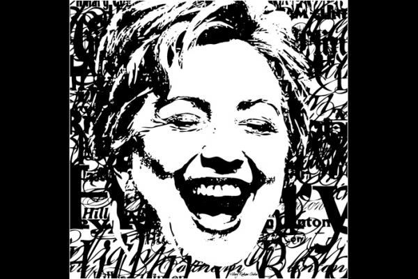 Hillary Clinton by Vadim